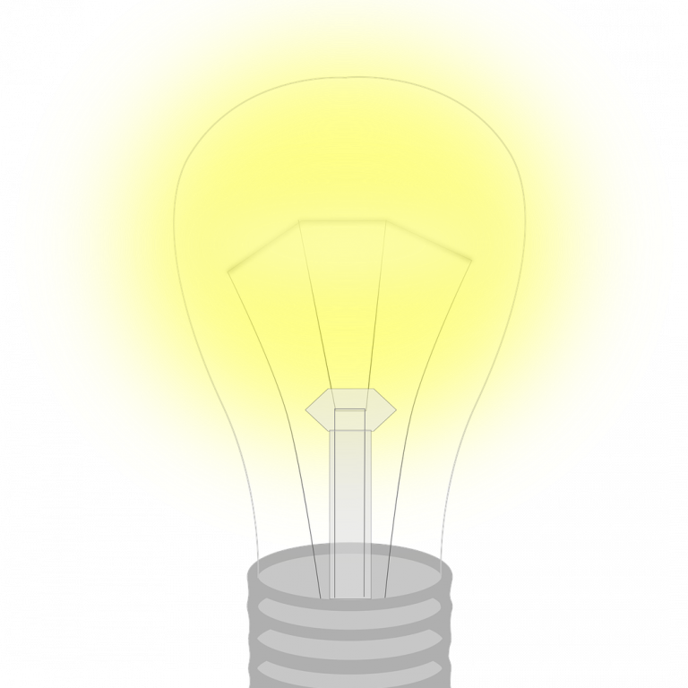 the light bulb, light, replacement lamp